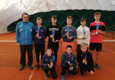 Ostatni turniej sezonu halowego młodych tenisistów