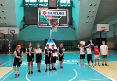 Sport szkolny: Wszystkie drużyny ze Szczecinka na podium Mistrzostw Województwa w koszykówce 3×3.