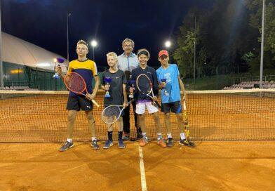 Sukcesy młodych szczecineckich tenisistów